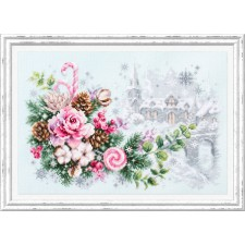 Cross stitch kit Christmas Sentiment - Chudo Igla