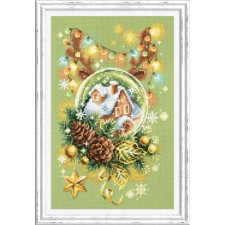 Cross stitch kit Light Christmas - Chudo Igla