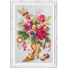 Cross stitch kit Christmas Surprise - Chudo Igla