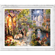 Cross stitch kit Night Rendezvous - Chudo Igla