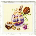 Cross stitch kit Chocolate Dessert