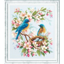 Cross stitch kit Spring Song