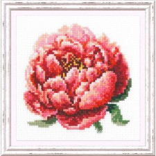 Cross stitch kit Red Peony - Chudo Igla