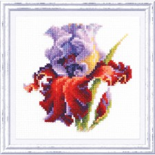 Cross stitch kit Iris