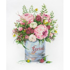 Diamond Painting Watercolour Bouquet - Freyja Crystal