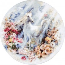 Cross stitch kit Unicorn