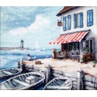 Cross stitch kit Sea Port