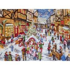 Cross stitch kit Christmas Eve