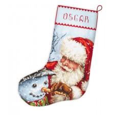 Cross stitch kit Christmas Stocking