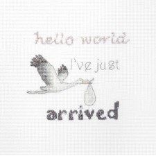 Cross stitch kit A gift for a Newborn