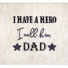 Cross stitch kit Father´s Day Gift