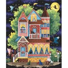 Cross stitch kit Fairtale House