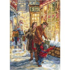 Cross stitch kit Christmas Expectation