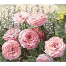 Cross stitch kit Summer Bloom - Leti Stitch
