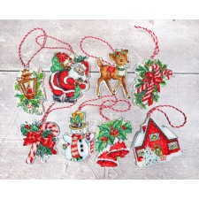 Cross stitch kit Christmas Toys Kit nr.1 - Leti Stitch