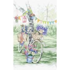 Cross stitch kit Bike - Leti Stitch