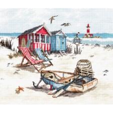 Cross stitch kit Beach - Leti Stitch