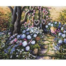 Cross stitch kit Wonderland Garden - Leti Stitch