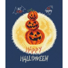 Cross stitch kit Pumpkin's Party - Leti Stitch