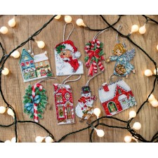 Cross stitch kit Christmas Toys Kit nr. 2 - Leti Stitch