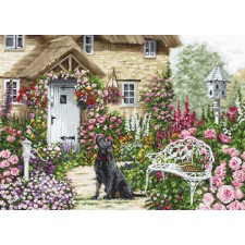 Cross stitch kit The Cottage Garden - Luca-S