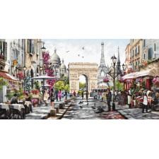 Cross stitch kit Paris - Luca-S