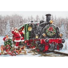 Cross stitch kit Santa's Express - Luca-S