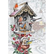 Cross stitch kit Bird House - Luca-S