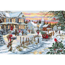 Cross stitch kit Christmas Eve - Luca-S