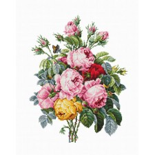 Cross stitch kit Roses - Luca-S
