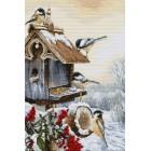 Cross stitch kit Bird House