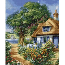 Cross stitch kit Summer Landscape - Luca-S