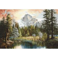 Petit Point stitch kit Nature's Wonderland - Luca-S