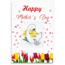Cross stitch kit Happy Mother`s Day - Luca-S