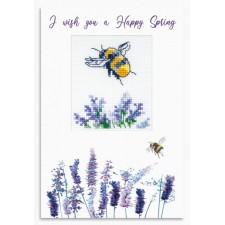 Cross stitch kit I Wish You a Happy Spring - Luca-S