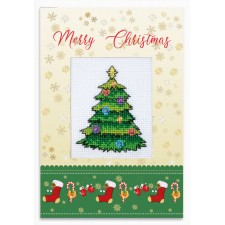 Cross stitch kit Merry Christmas - Luca-S