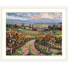 Cross stitch kit Vineyard Hill - Merejka