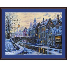 Cross stitch kit Winter Evening