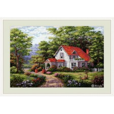 Cross stitch kit Sterling Estate - Merejka