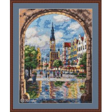 Cross stitch kit Gdansk - Merejka