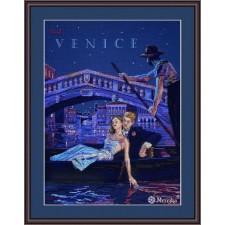 Cross stitch kit Visit Venice - Merejka