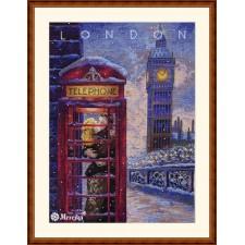 Cross stitch kit Visit London - Merejka