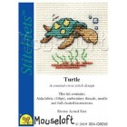 Cross stitch kit Turtle