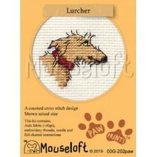 Cross stitch kit Lurcher