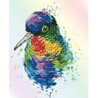 Diamond Dotz Rainbow Feathers