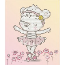 Diamond Dotz Ballet Bear - Needleart World
