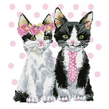 Diamond Dotz Mr & Mrs Pink - Needleart World