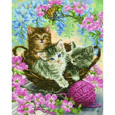 Diamond Dotz Kitty Knits - Needleart World