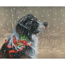 Diamond Dotz Christmas Collie
