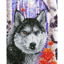 Diamond Dotz Forest Wolf